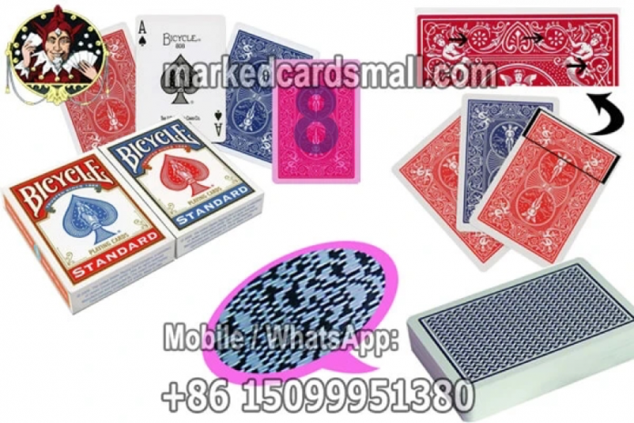 various marked cards for poker cheating